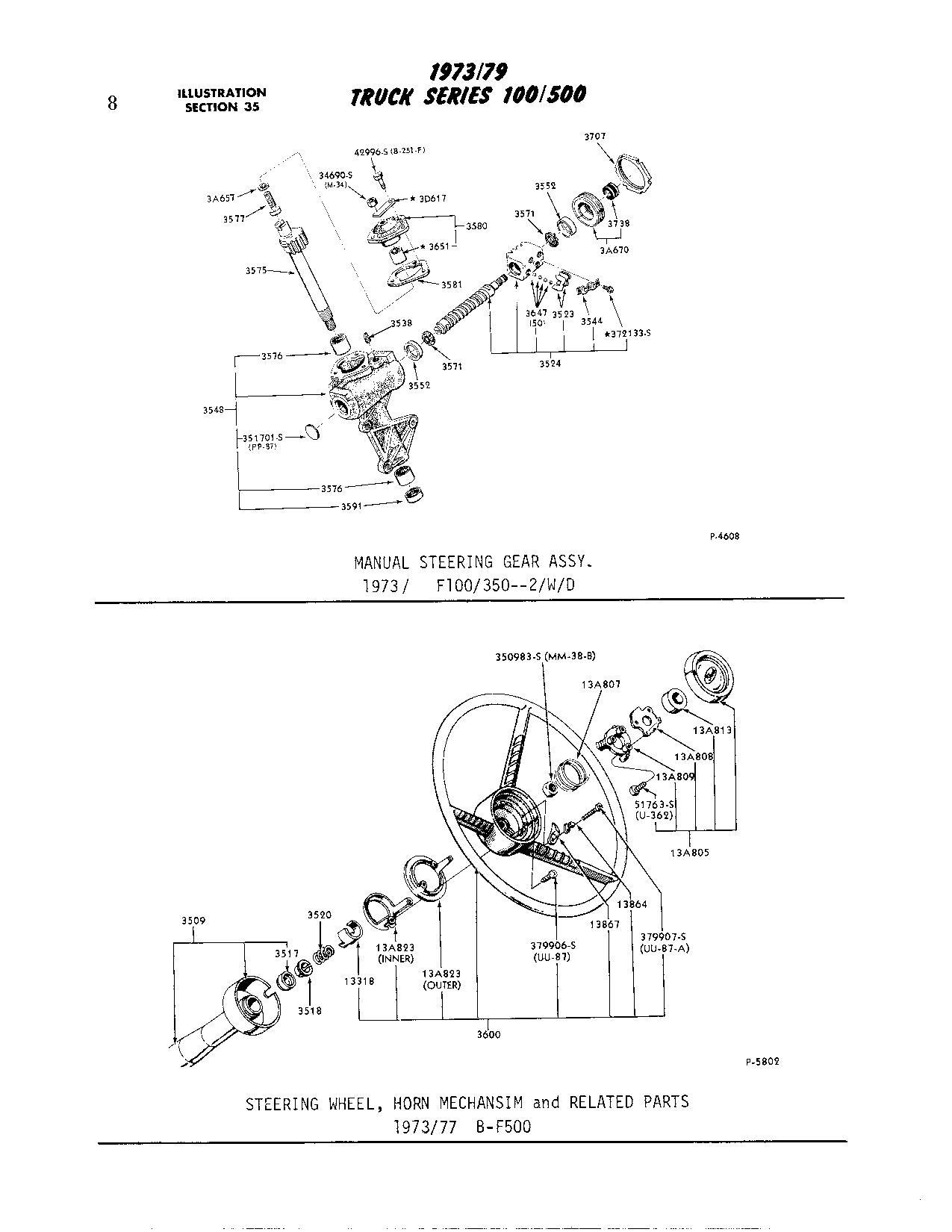 74 F350 Dually 360 Power Steering