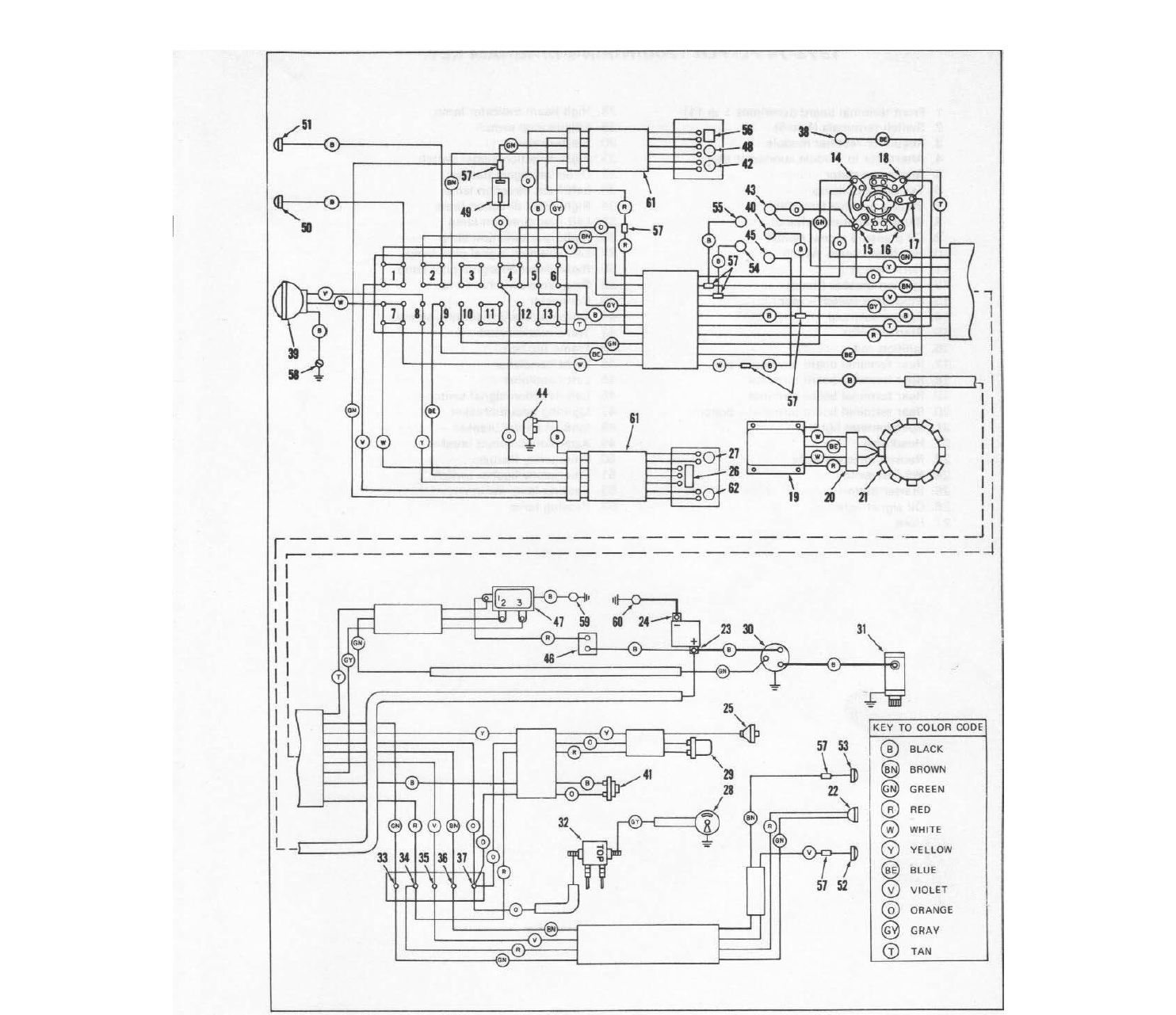 75 Flh Wiring Diagram - Technical Diagrams Harley Flh Wiring Diagram on
