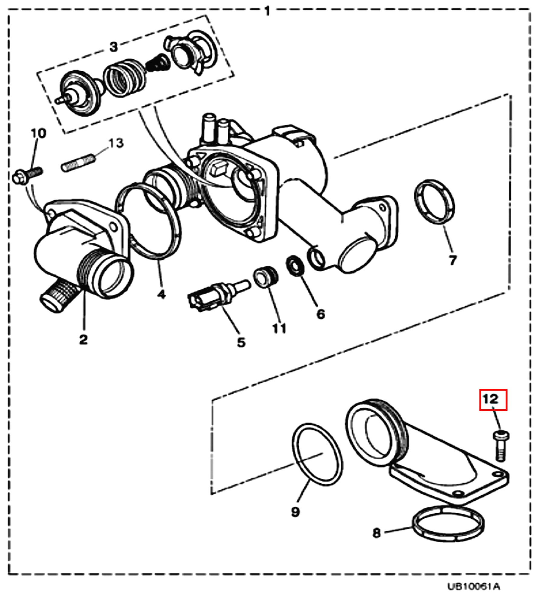 Xj8 Replace Thermostat Only