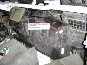 Ford F250 Replace Blend Door How to  FordTrucks