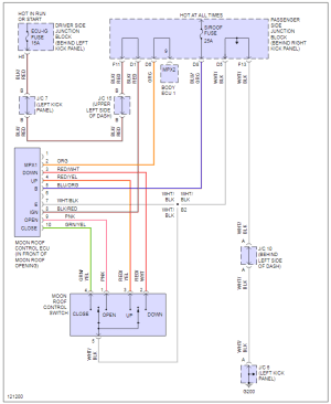 Sunroof wiring diagram  ClubLexus  Lexus Forum Discussion