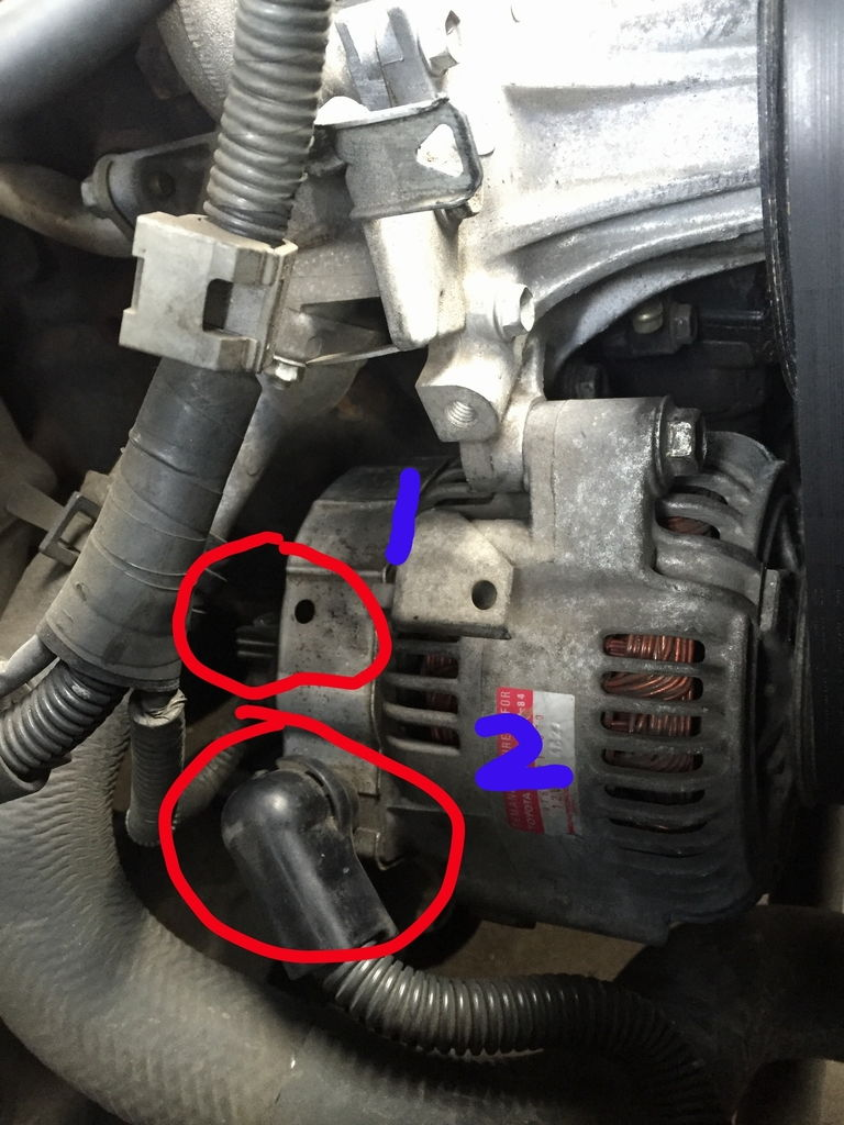 Diy Alternator Replacement Sc300 Clublexus Lexus Forum