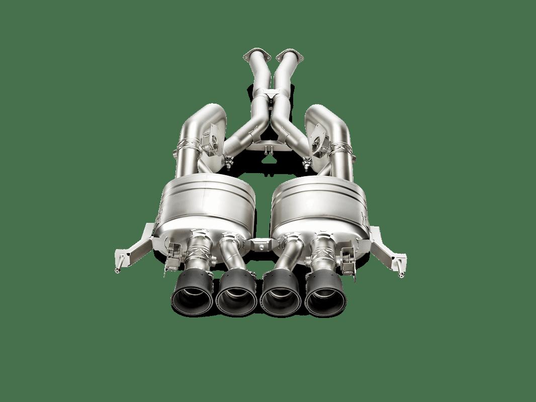 C7 Corvette Akrapovic Titanium Evolution Amp Slip On Exhaust