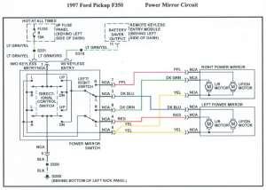 1996 power mirror wiring diagram ?  Ford F150 Forum