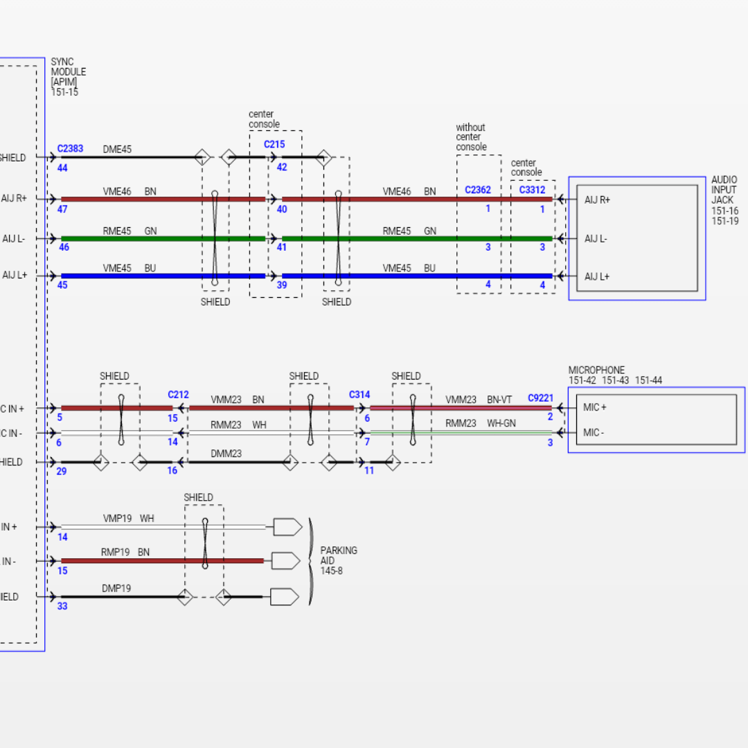 WRG-4671] Wiring Diagram Auto Dimming Rear View Mirror Ford F150 on