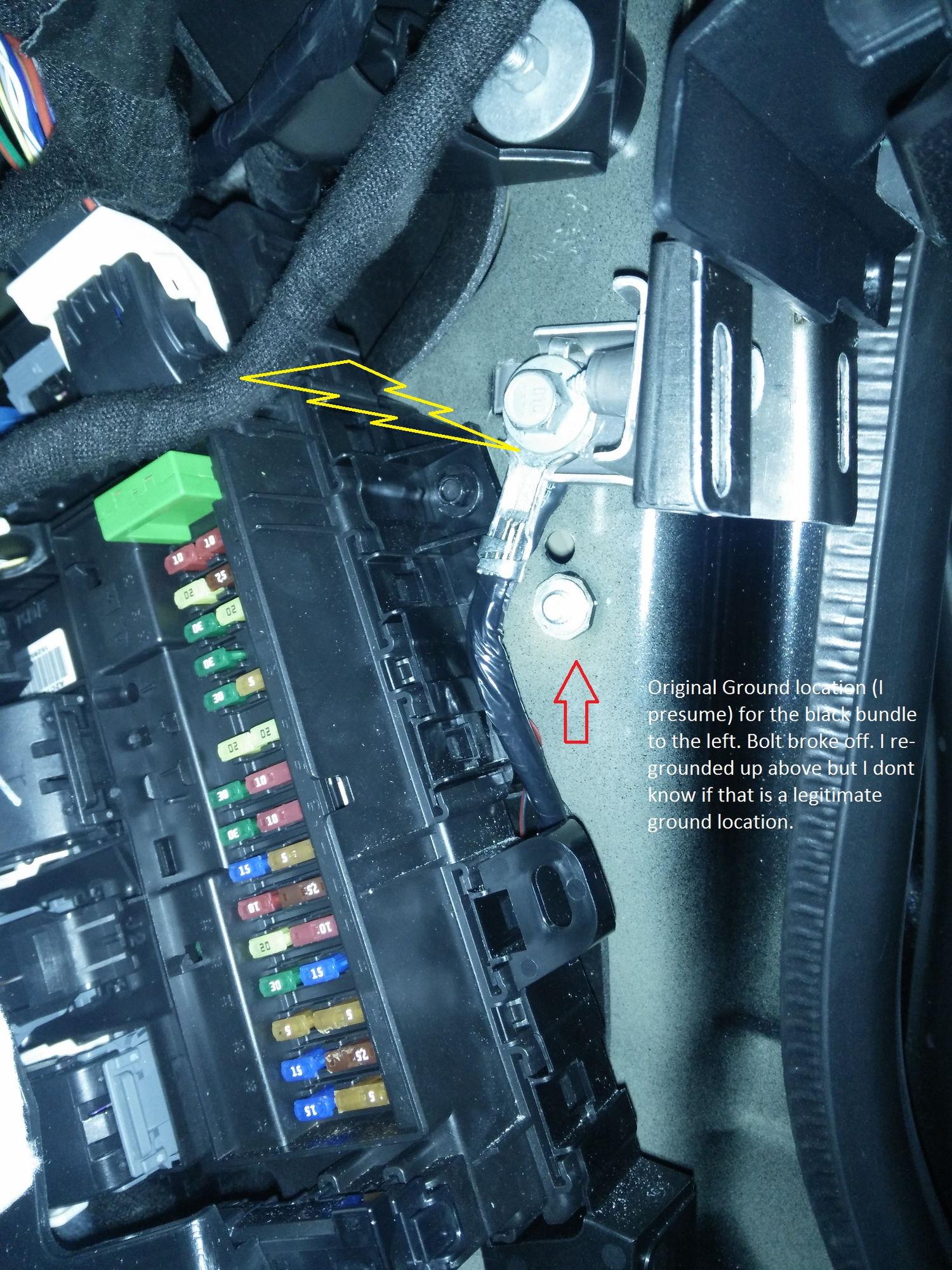 F150 Fuse Panel Diagram