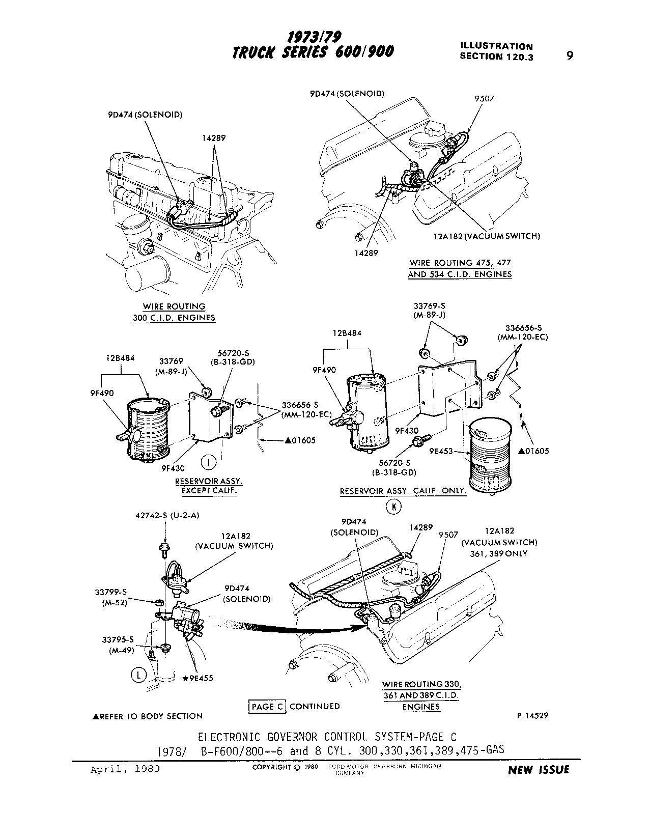 Ford 5 8 Engine Vacuum Diagram