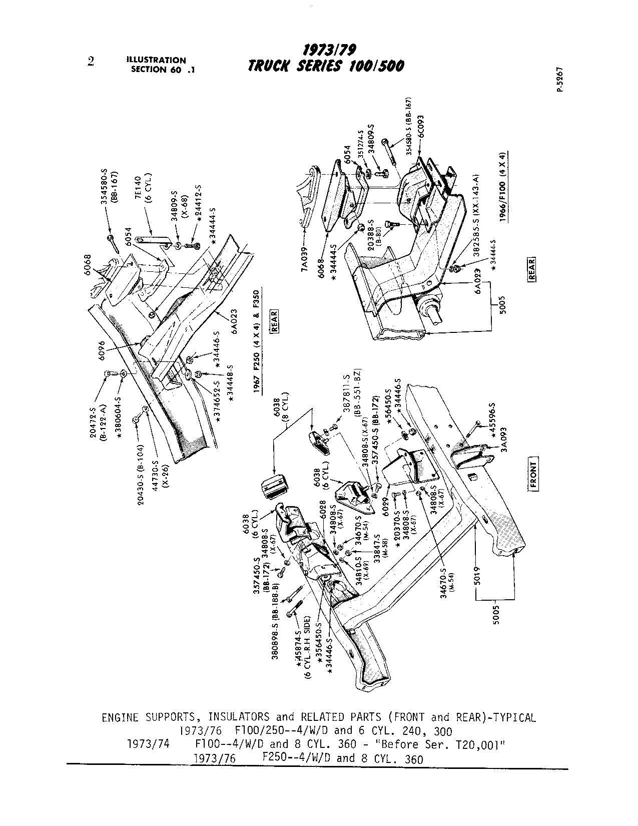 65 F100 4x4 Manual To Auto Trans Conversion