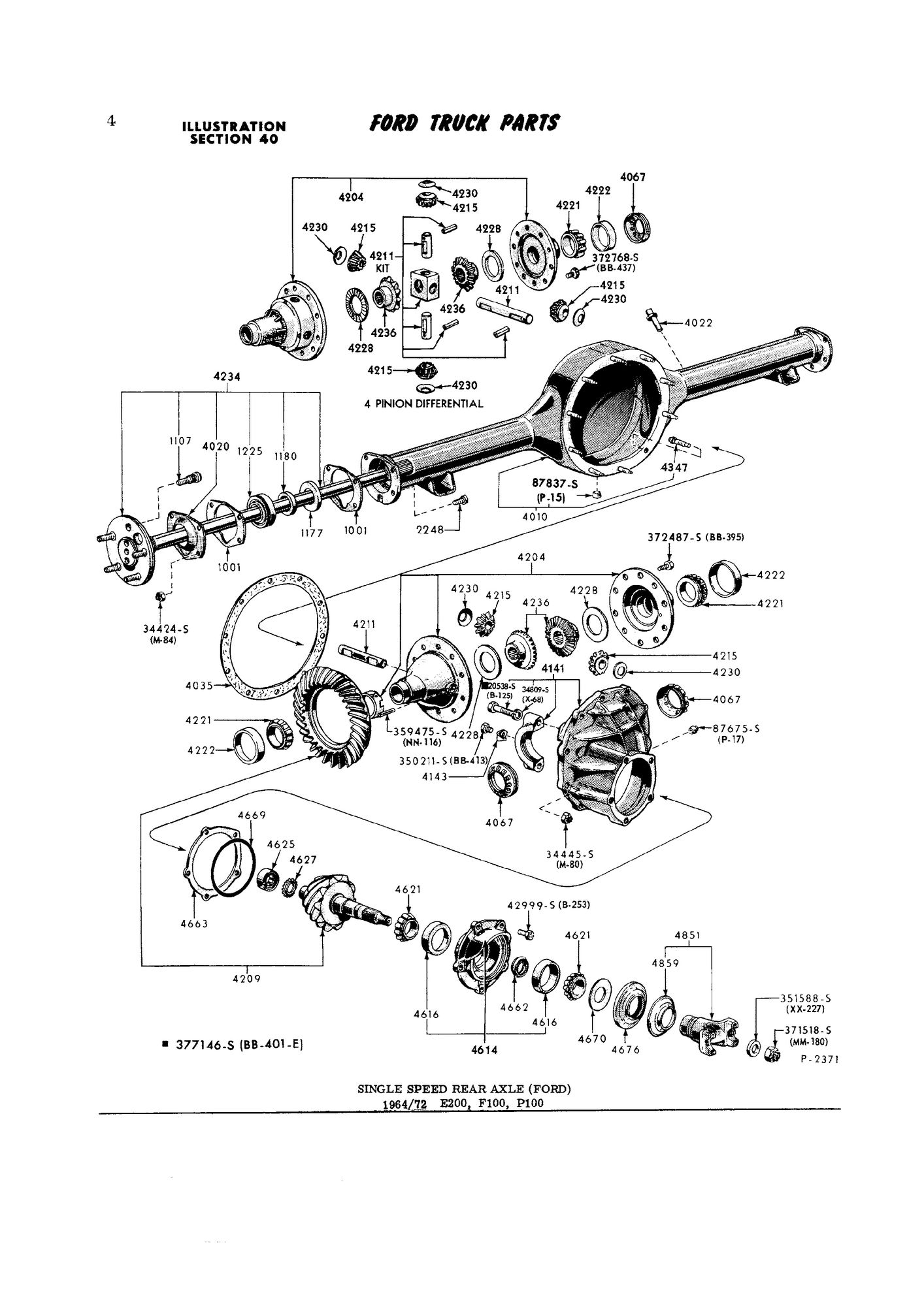 Ford 9 Inch Part Number Confusion