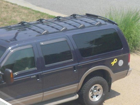 my roof rack fix ford truck