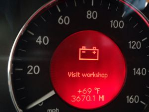 red battery symbol visit workshop  MBWorld Forums