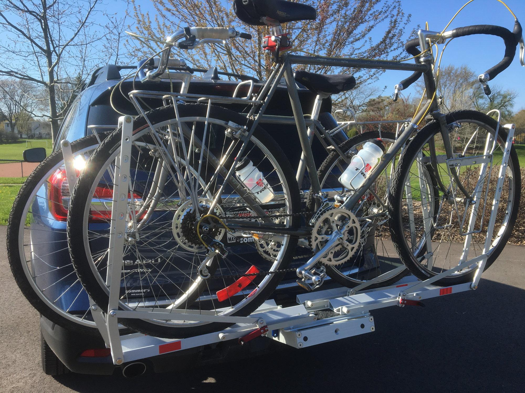 thumbs up for 1up usa bike rack bike