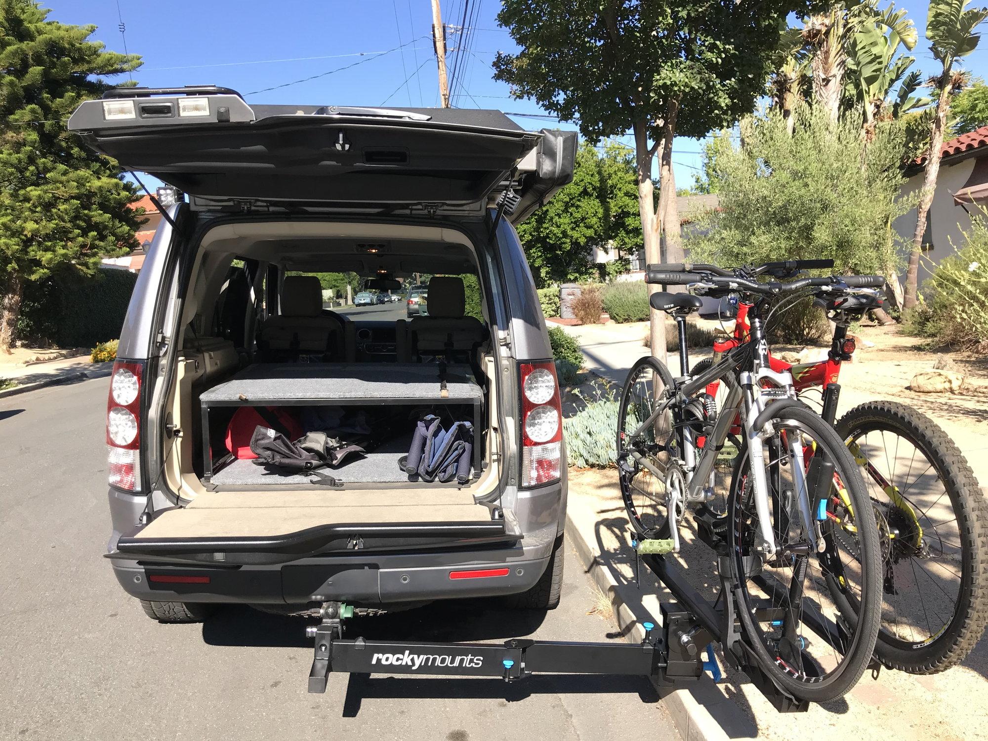 rockymounts backstage bike rack land