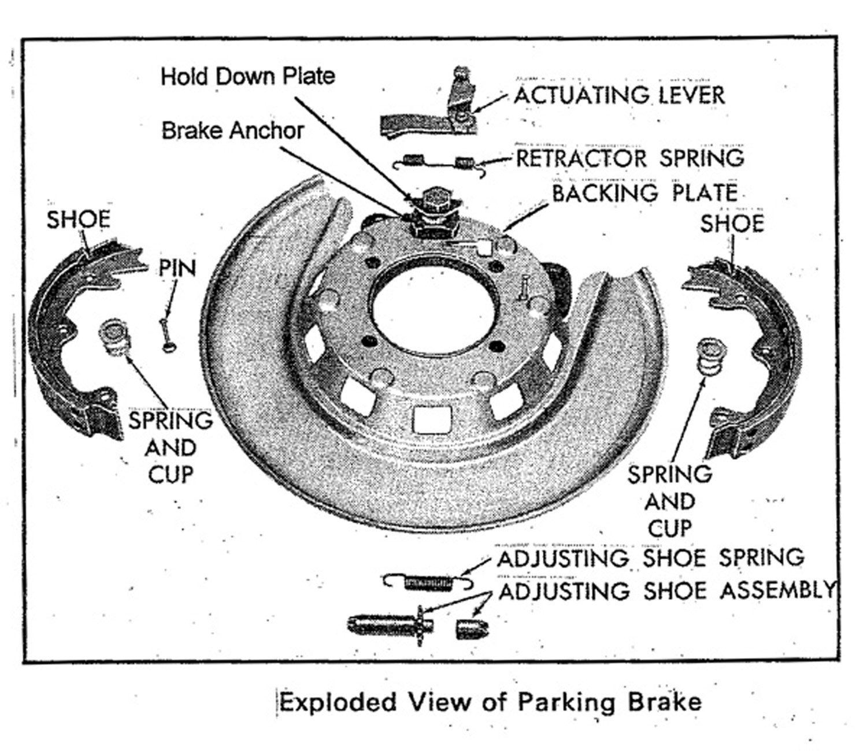 Parking Brake Replacement 68