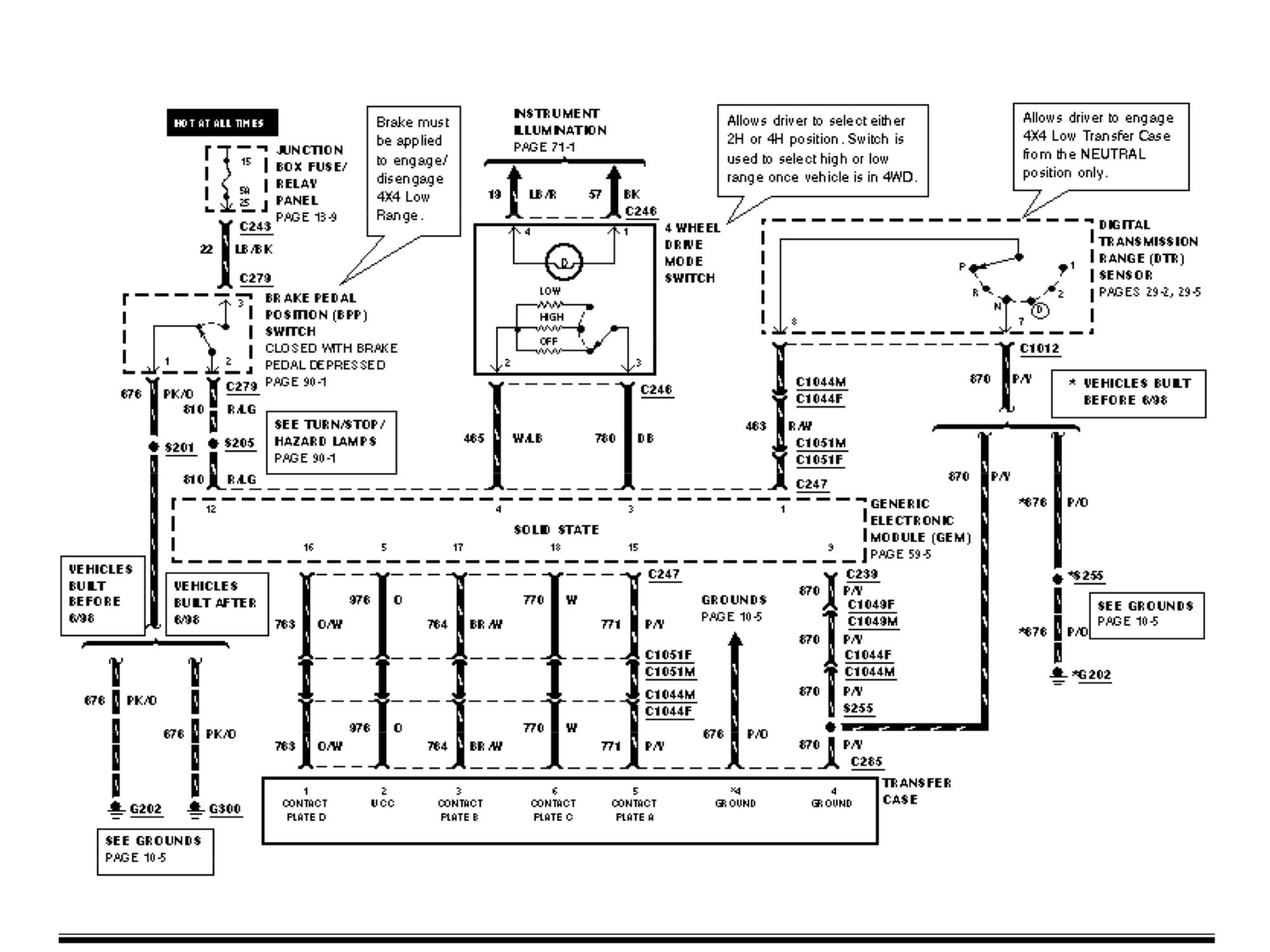 F150 4x4 Gem Module Parts