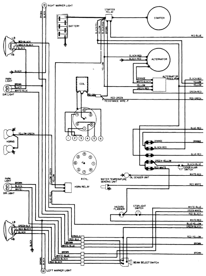 ford f100 alternator wiring diagram  sony cdx gt610ui