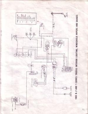 65 F250  turn signal circuit shorts  Ford Truck