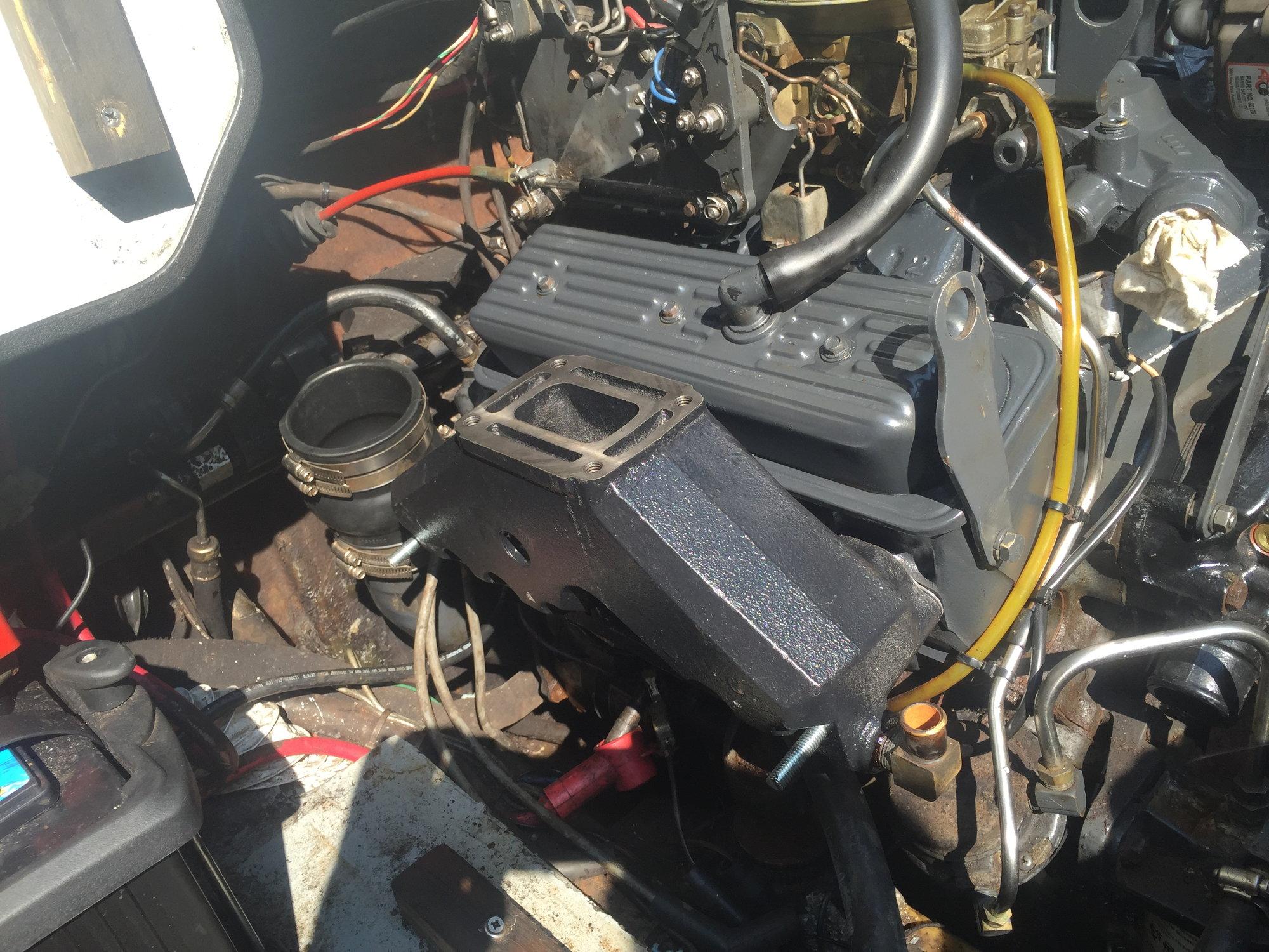 penta 5 0 gi exhaust manifold overheat