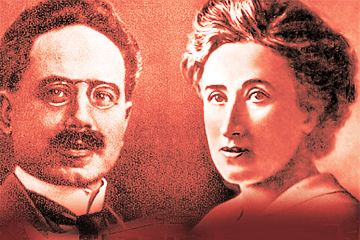 Resultado de imagen de rosa luxemburg and karl liebknecht