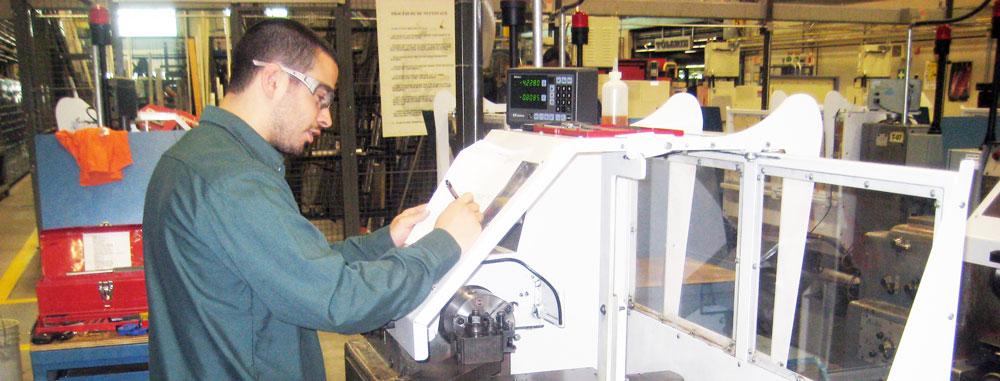 Usinage sur machine outils à commande numérique
