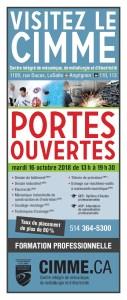 Porte Ouverte @ CIMME | Montréal | Québec | Canada