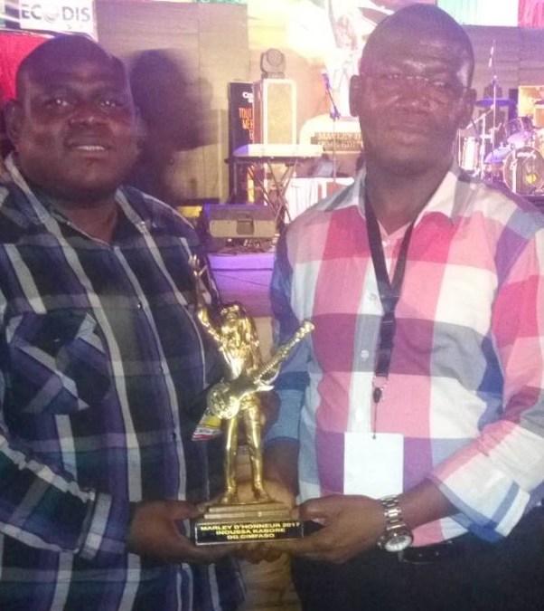 Le marley d'honneur 2017 décerné à CIMFASO
