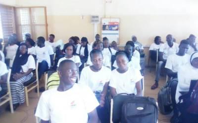 CIMFASO A  L'INSTITUT BURKINABE DES ARTS ET DES METIERS (IBAM)