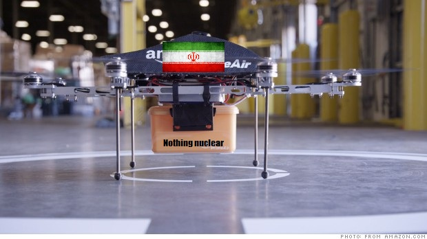 Iran Claims to Have Reverse-Engineered Amazon Drone