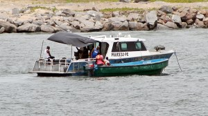 Nigerian Marine Police in Lagos Channel compressed