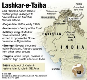 A pre-26/11 U.S. Department of State fact sheet on Lashkar-e-Taiba.