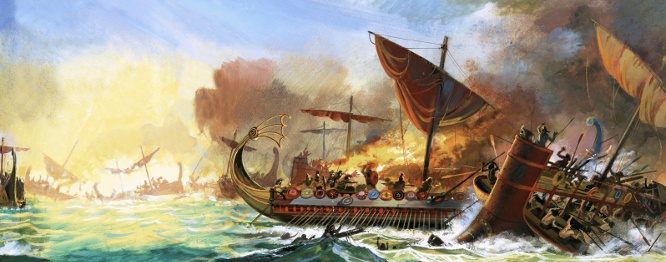 Lessons From History: Themistocles Builds a Navy