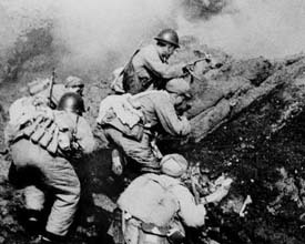 PRC forces on Yiangshan