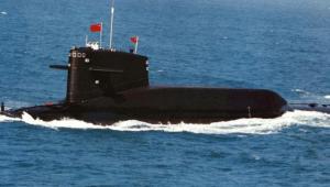 PLAN nuclear ballistic missile submarine, PLAN Photo.