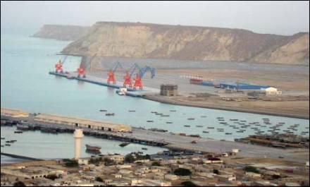 Port in Gwadar, Pakistan.