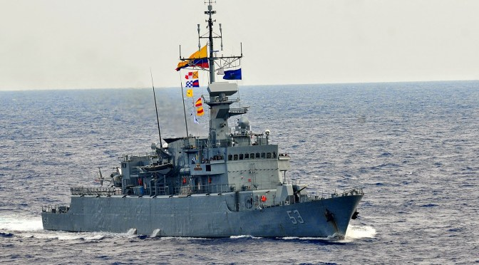 The Colombian Navy: South America's Powerhouse?