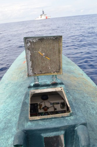 31 August 2015 Seizure of Narco Submarine U.S. Coast Guard Photo