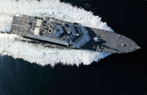 USS Fort Worth. Rolls-Royce Photo.