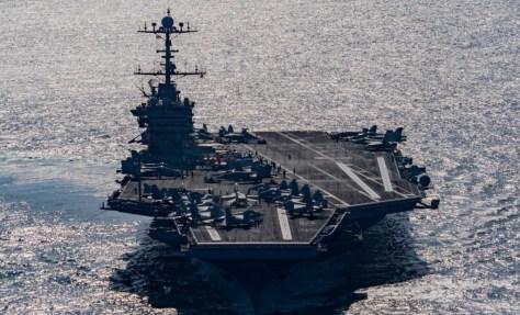 USS Harry Truman.