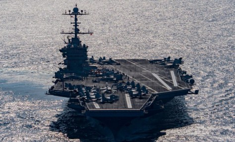 USS Harry Truman.