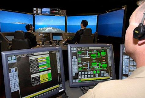 LCS simulator used to prepare crews (Lockheed Martin photo).