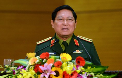 Gen. Ngo Xuan Lich, incoming Minister of National Defense.