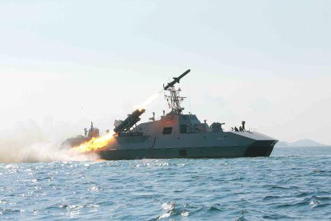 Nongo class missile boat.