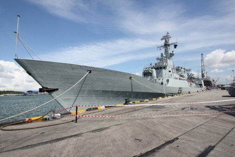 Sword class frigate of the Pakistani Navy.