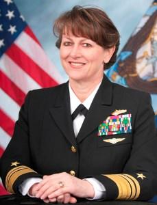 VADM Jan Tighe assumed duties as OPNAV N2/N6 and Director of Naval Intelligence in July 2016. Image credit: US Navy