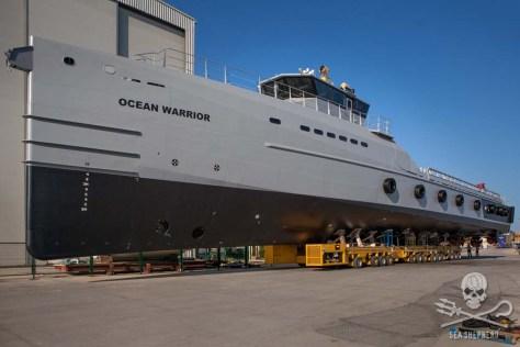 Sea Shepherd's Ocean Warrior (Sea Shepherd photo)