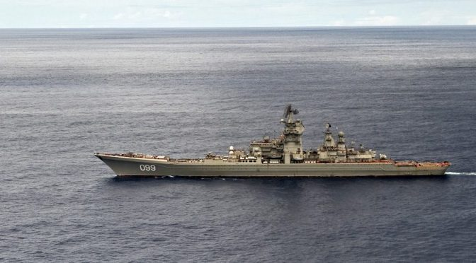 The Role of Cruisers in Promoting Russian Presence and Deterrence in Peacetime