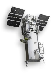 DigitalGlobe's Worldview-3 satellite was launched in 2014 and provides commercial imagery with a 31cm (12in) resolution. (DigitalGlobe)