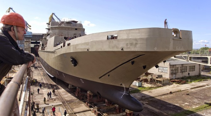 The Ambitions and Challenges of Russia's Naval Modernization Program