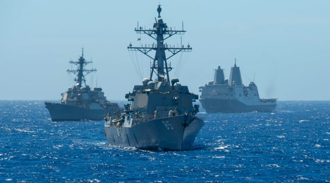 Increasing the Lethality of the Surface Force: A Conversation with RDML Scott Robertson
