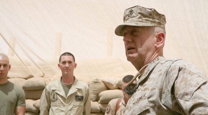 Missing in Action: The Mattis Behind the Mask